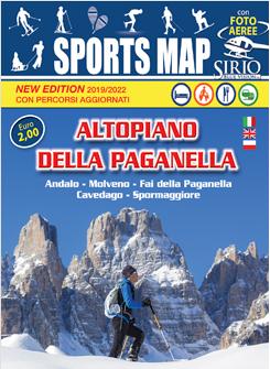 Hotel Cavallino mostra la Mappa degli sport in Trentino sulla Paganella
