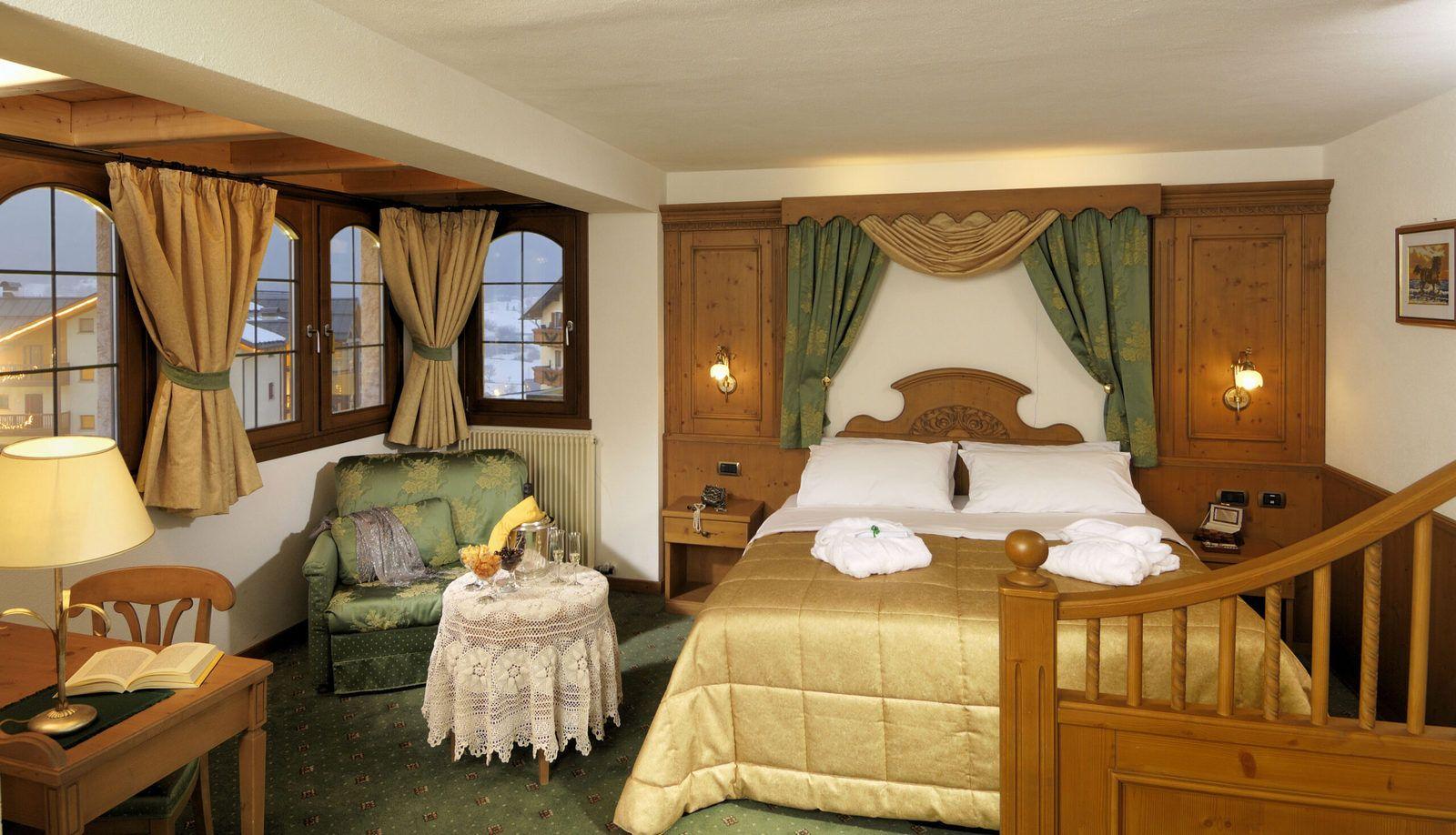 romantic room in Trentino