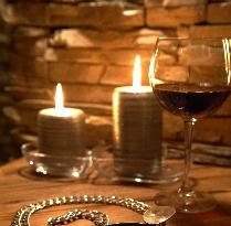 Romantic atmosphere in Andalo