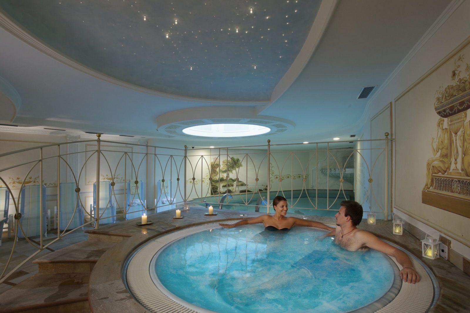 Hotel Cavallino la vasca idromassaggio