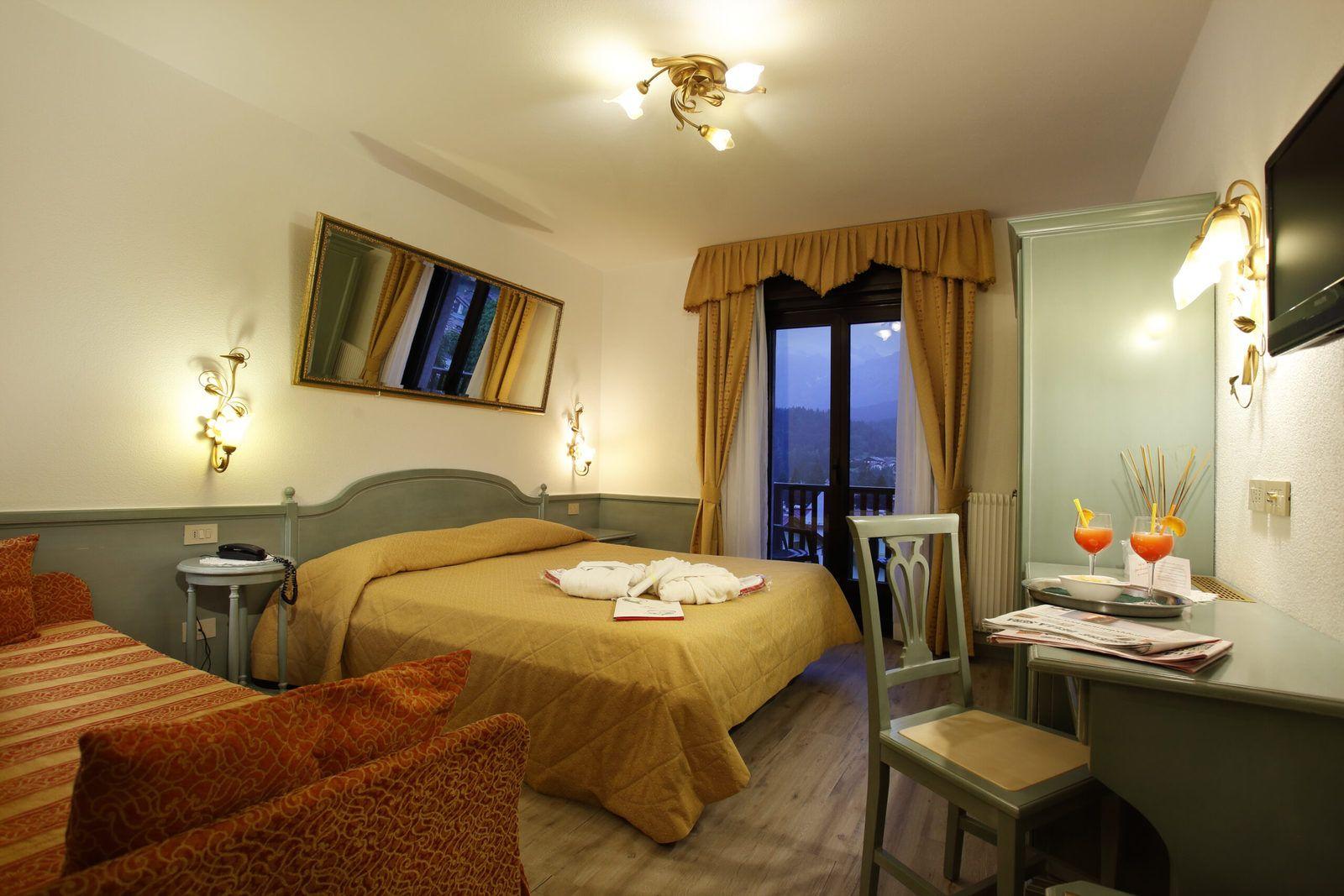 Hotel Cavallino Andalo camera Harmony