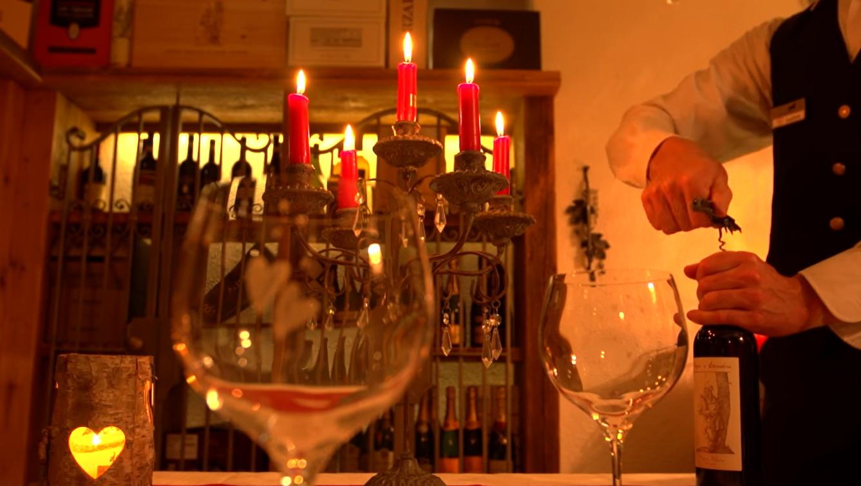 Cena romantica ad Andalo