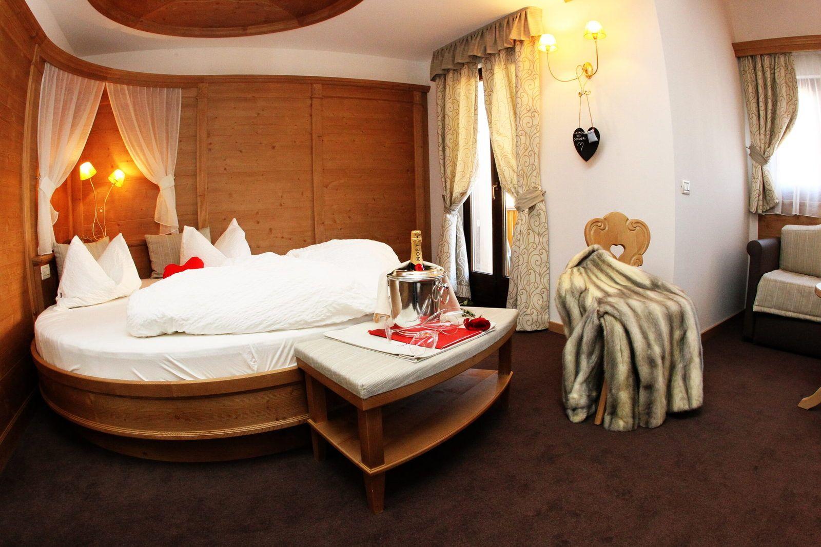 Una delle suites di Hotel Cavallino ad Andalo