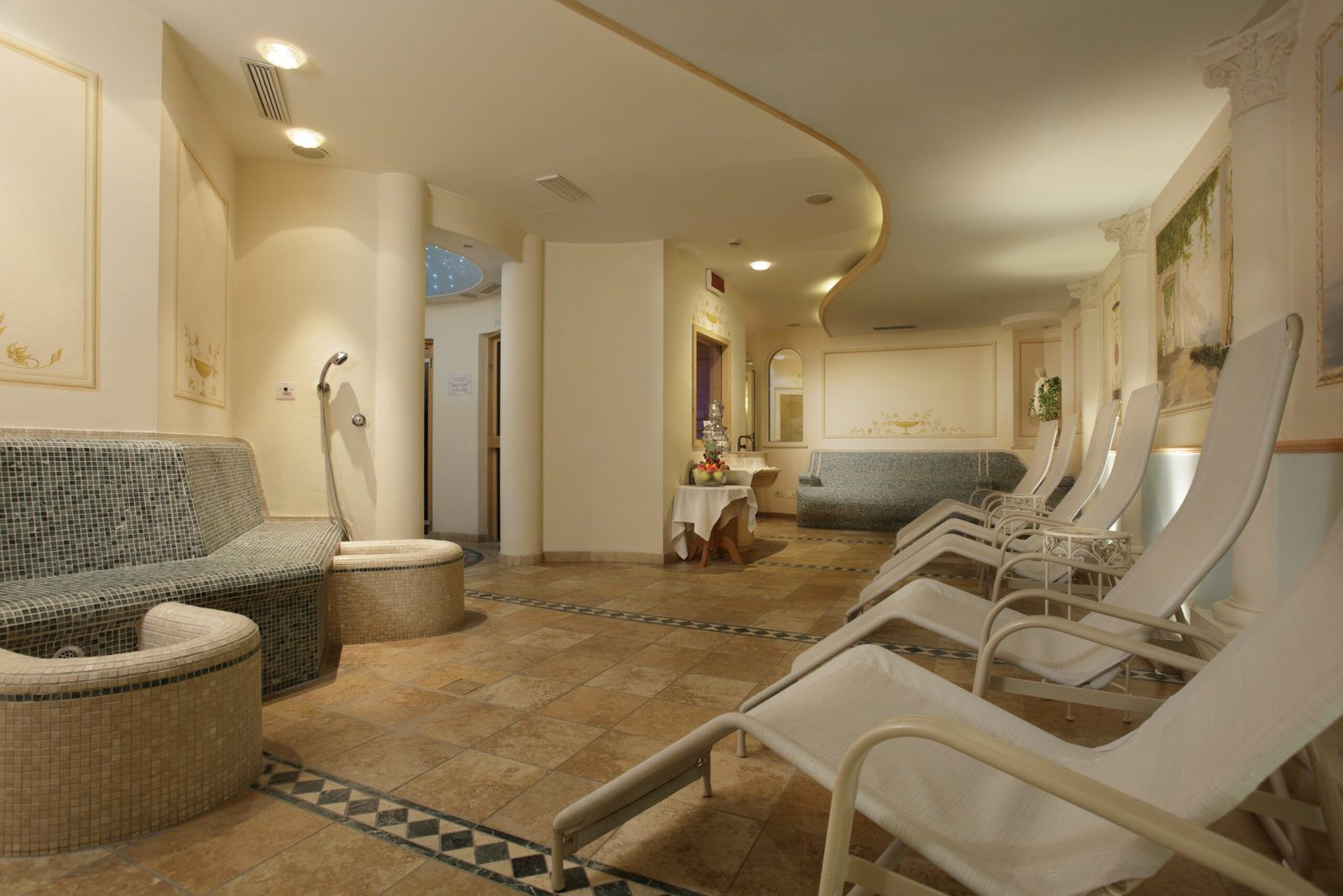 area wellness del Cavallino Lovely Hotel ad Andalo