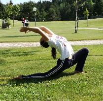 Yoga in montagna in Trentino