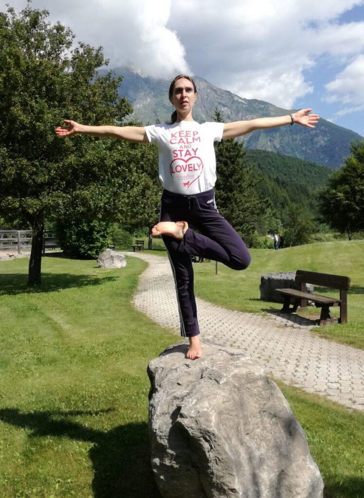 Yoga ad Andalo respiro libero