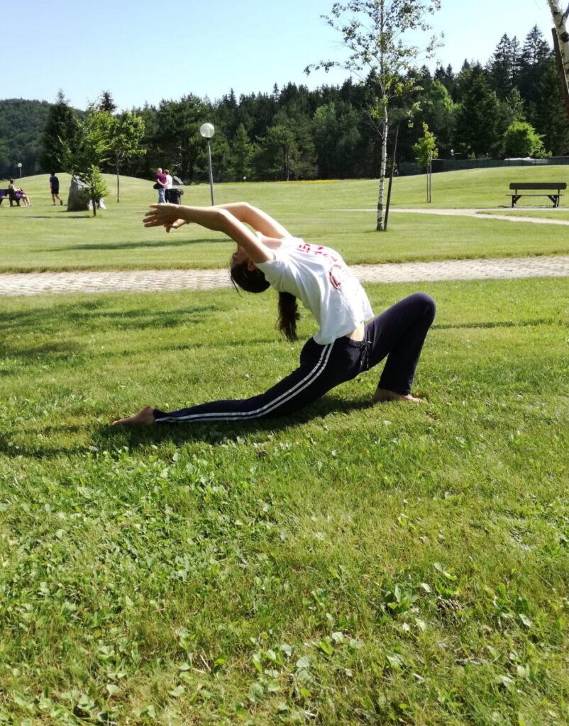Yoga sulle Dolomiti