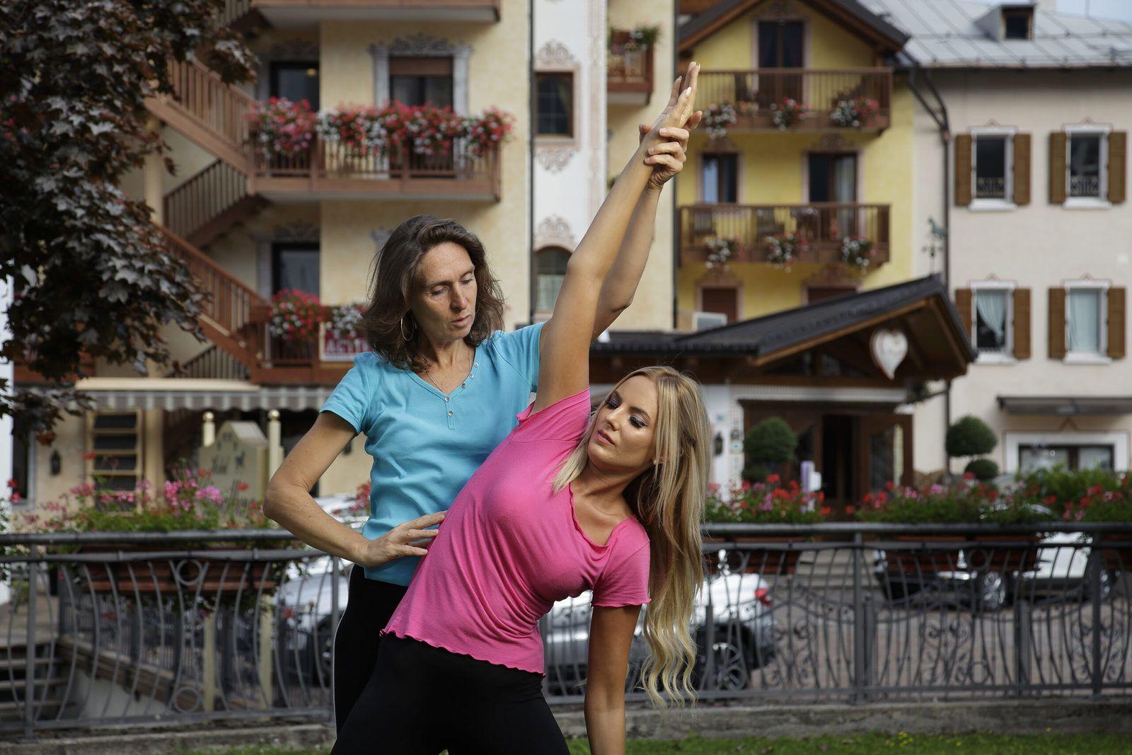 Yoga ad Andalo
