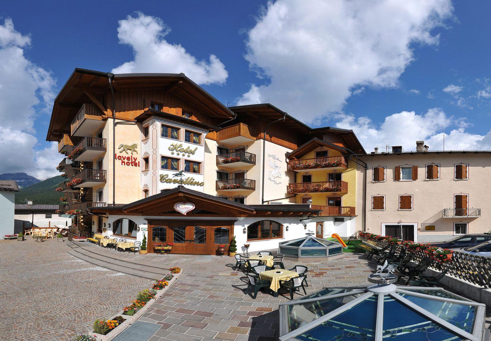 vista esterna del nostro hotel ad andalo