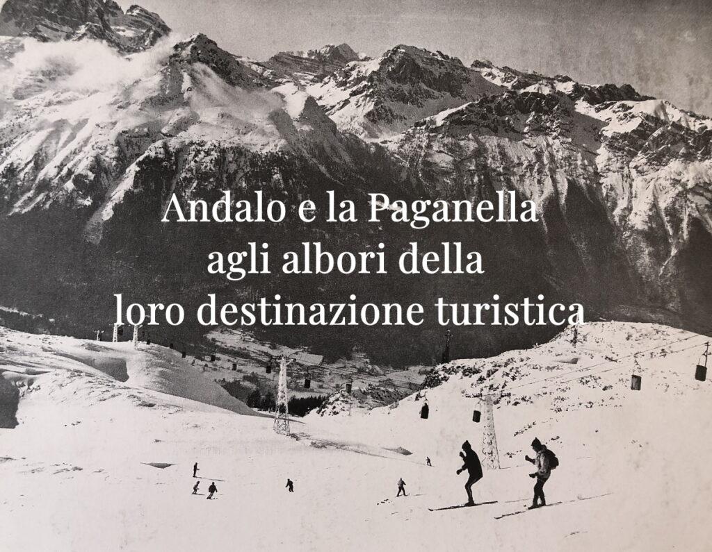Lo sci ad Andalo e Paganella agli albori degli impianti di risalita
