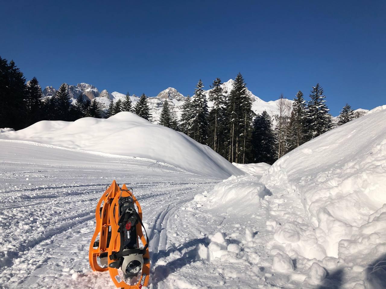 tanta neve in Paganella