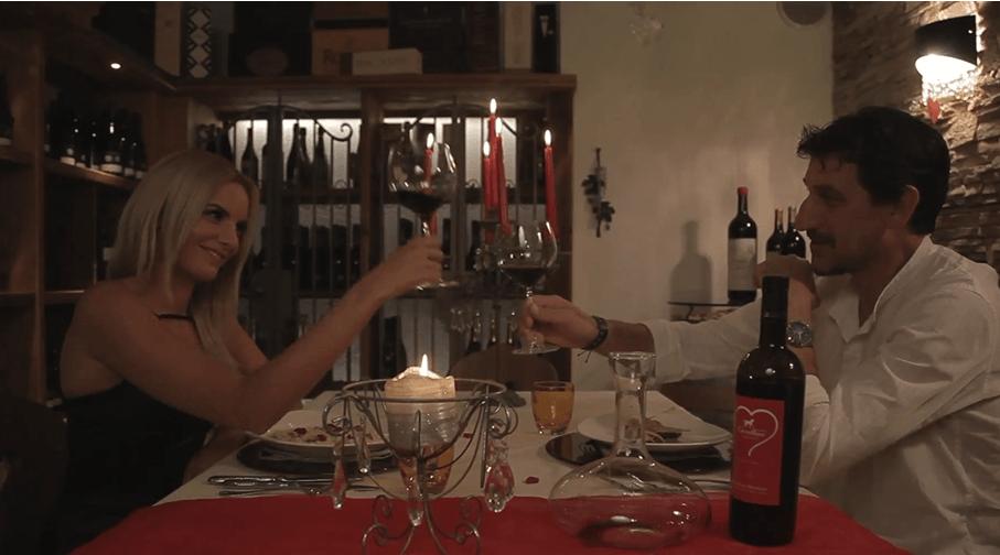 Una cena romantica al Cavallino Lovely Hotel di Andalo