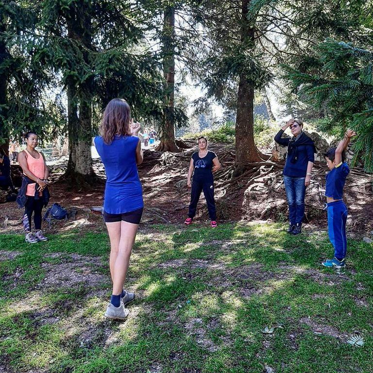 Vacanza rigenerante con Yoga nei boschi di Andalo