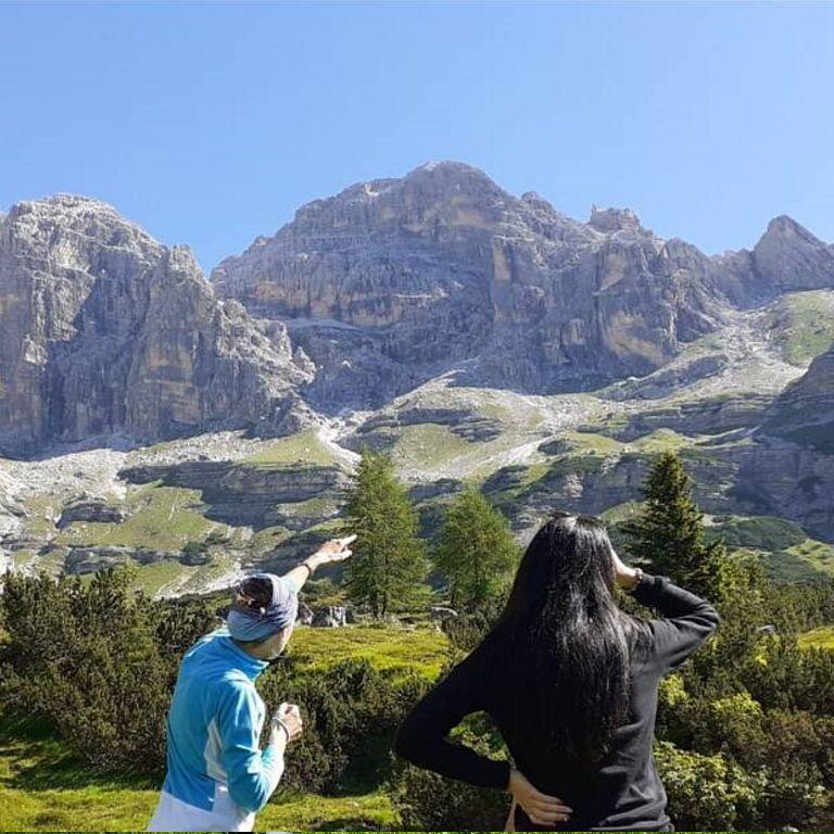 Vacanza in montagna sulle Dolomiti di Brenta