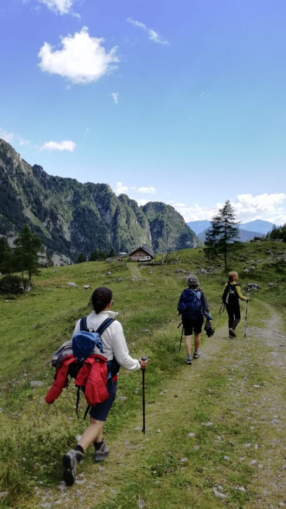 In montagna con le guide alpine del Brenta